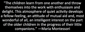 MM quote on enthusiasm of learning together
